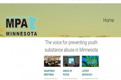 MN Prevention Alliance website screenshot
