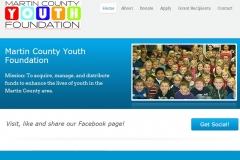 Martin County Youth Foundation Screenshot